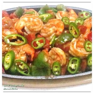 Special Sizzling Gambas